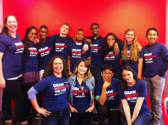 Students in my high school feminism class 2012 (photo Ileana Jiménez).