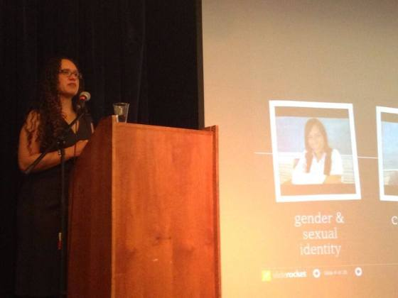 I delivered the keynote at Brooklyn Friends School for their professional development conference on supporting LGBT students in schools (photo credit: Brooklyn Friends School).