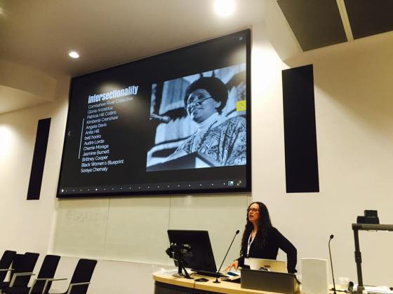 IGSA 2016 Ileana Jimenez Feminist Teacher intersectionality slide photo
